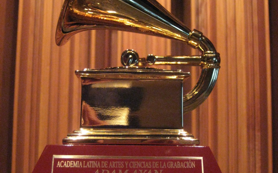 Adam Ayan's newest Latin Grammy has arrived, and it's a beauty!