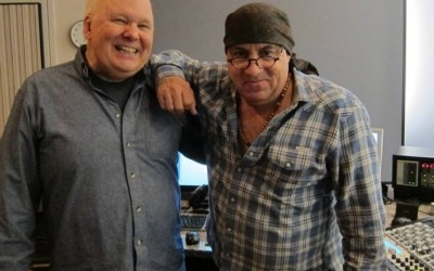 Bob Ludwig and Steven Van Zandt master the new Darlene Love album!