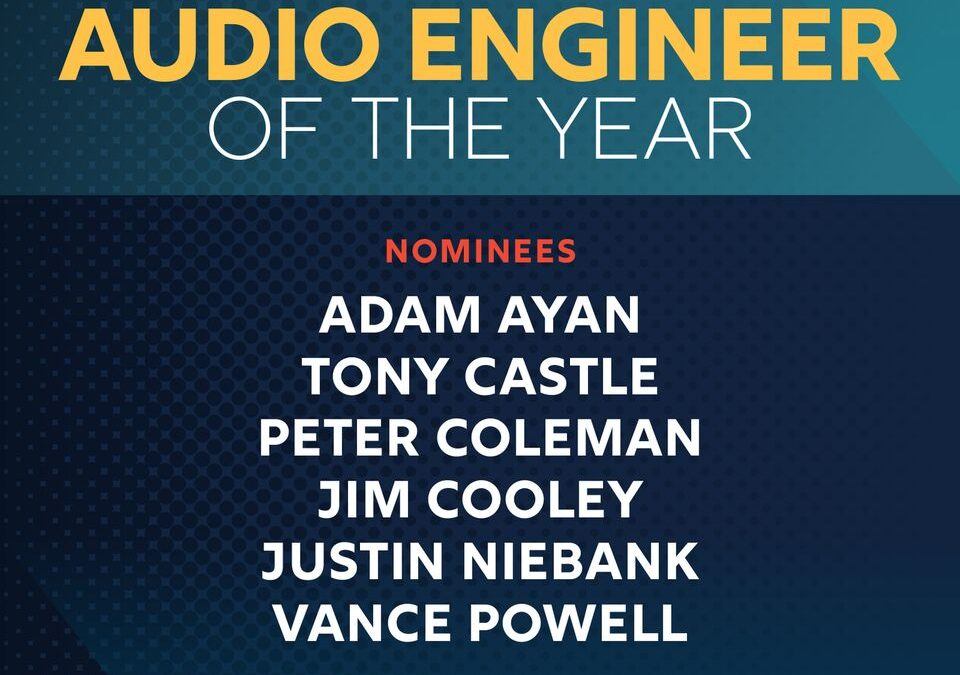 Adam Ayan nominated for an Academy of Country Music Award!